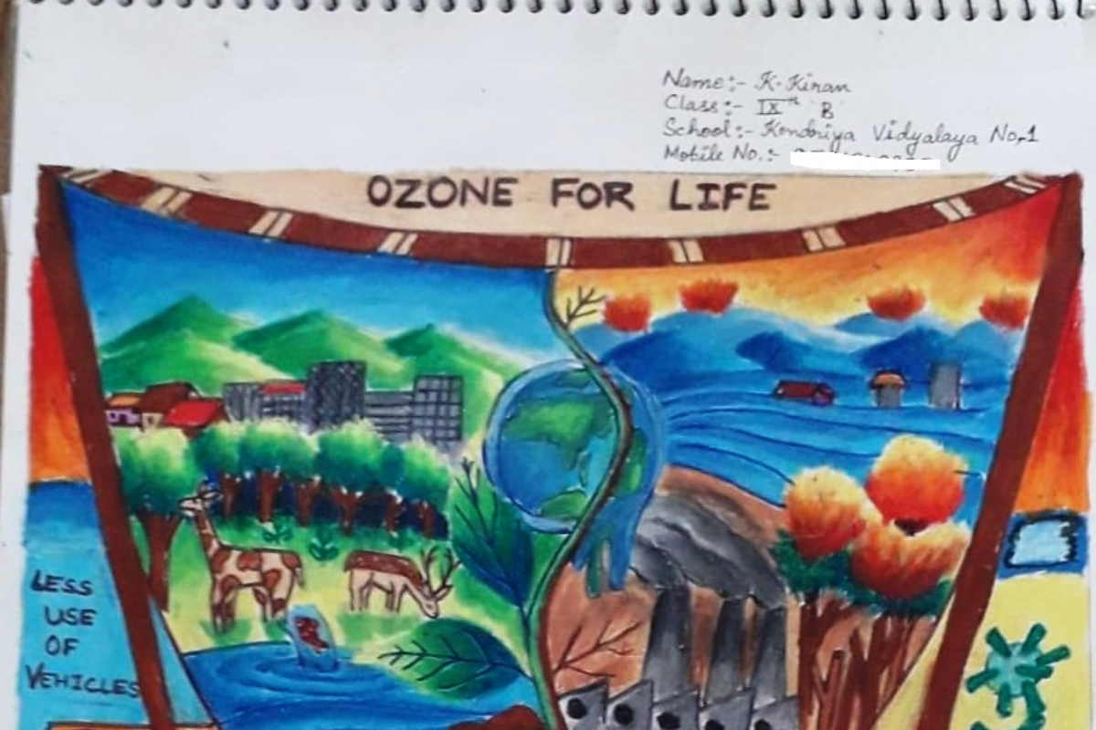 Ozone Day Drawing Competition