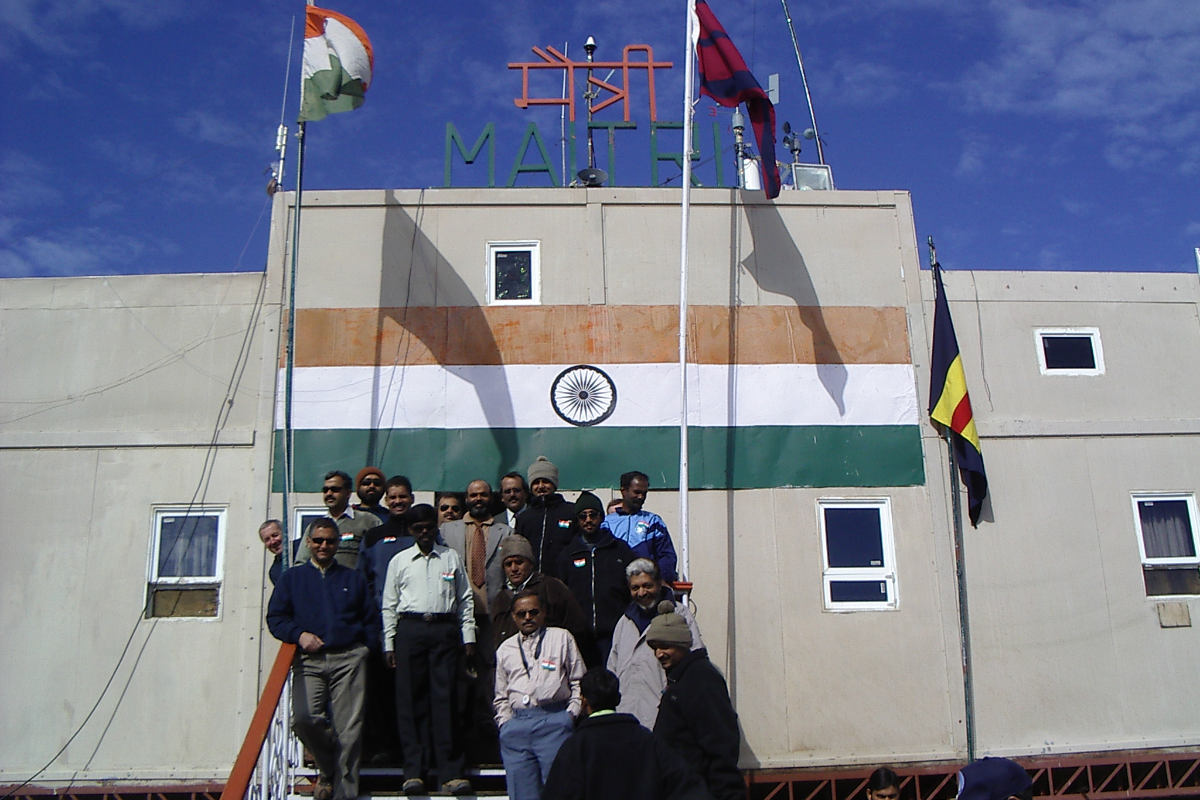 Indian Antarctic Station Maitri