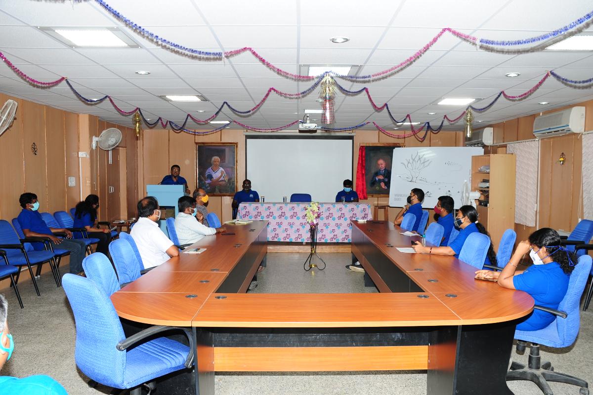 1. Van Mahotsav celebration at BSI SRC on 06-07-2021