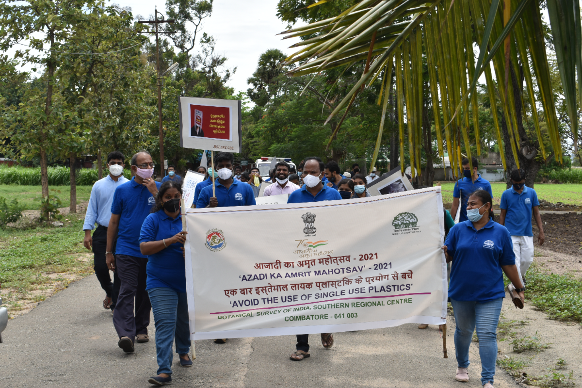 5. Awareness Rally  Passing through different areas generating awareness about the effect of Plastic use on Nature