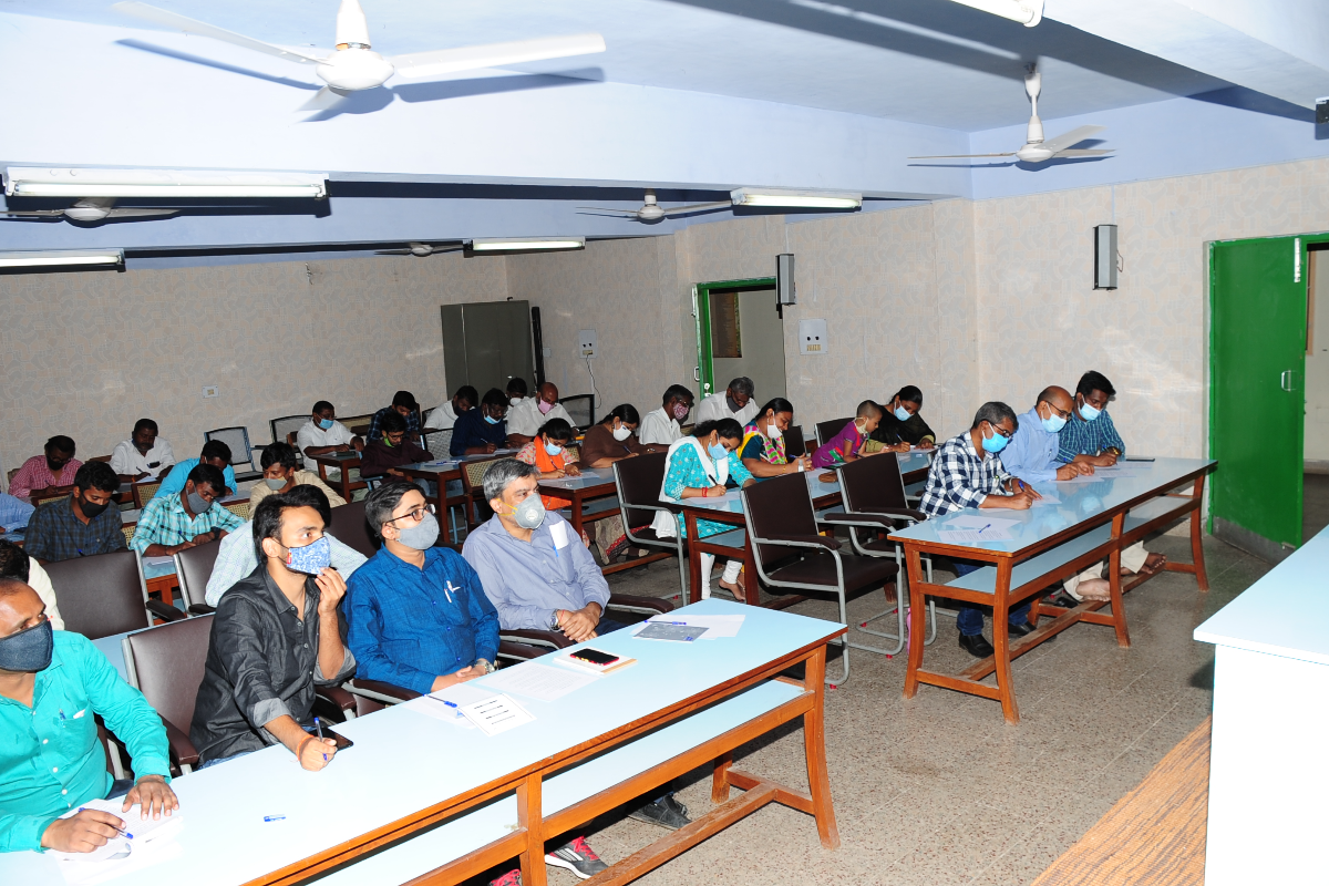 BSI, SRC Staff Participating in the various Hindi Competitions.