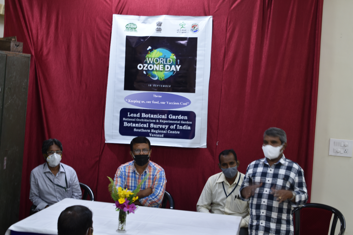 Welcome address by Dr. Kaliamoorthy, Scientist-'E' & Head, NOEG, Yercaud