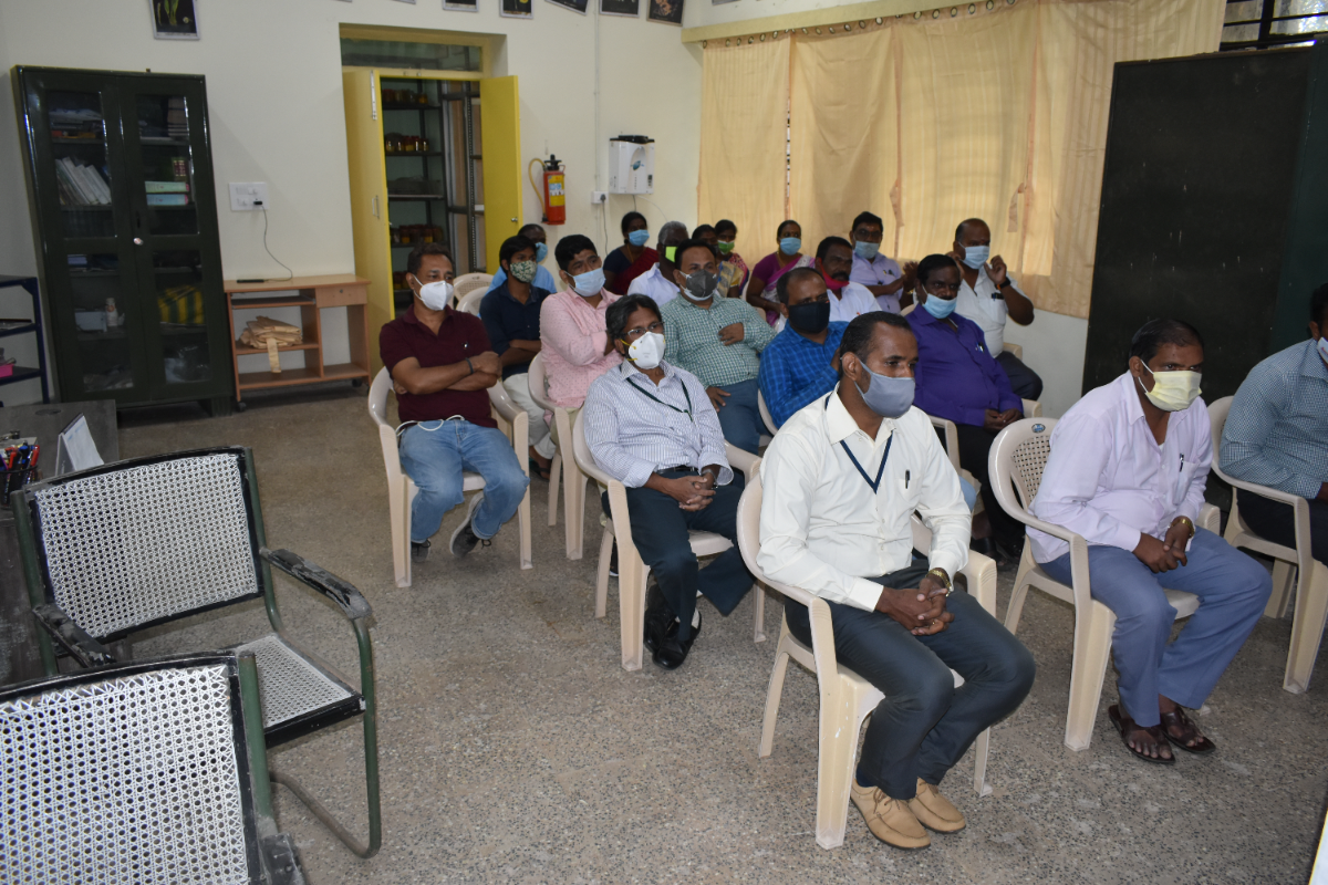 Staff of BSI, SRC, NOEG, Yercaud and HRS attending Ozone Day