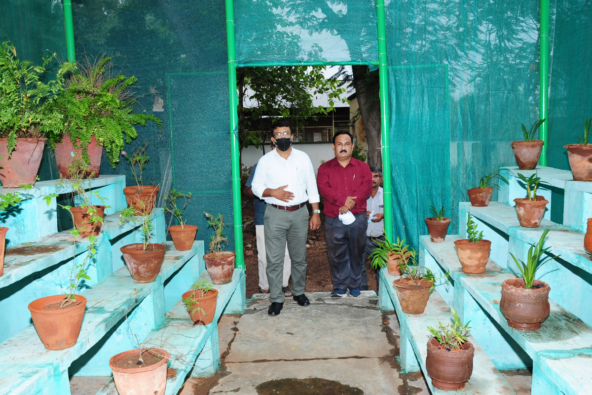 Opening of New Polynet House by H.o.O and Scientists.